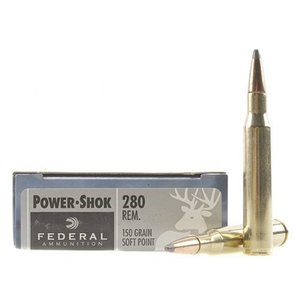 Federal Federal Power-Shok 280 Remington 150 Grain SP
