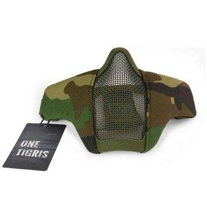 OneTigris OneTigris Face Mask Lower (Woodland) Foldable