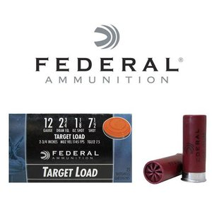 "Federal Federal Top Gun (12 Gauge 2-3/4"" #7.5 Target Load)"