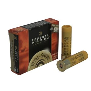 "Federal Federal Premium Vital-Shok 20 Gauge (3"" Maximum 3/4oz Hollow Point Slugs)"