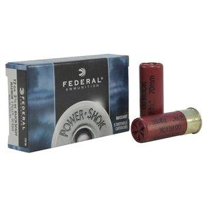 "Federal Federal Power-Shok 12 Gauge (2-3/4"" Maximum OO Buckshot)"