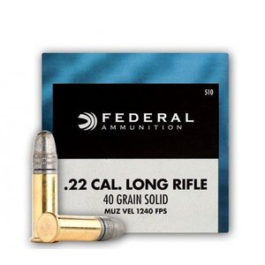 Federal Federal Champion 22LR 40 Grain Solid Lead (50 rounds)