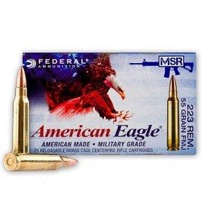 American Eagle American Eagle MSR 5.56 x 45mm (55 Grain FMJ) (#XM193)