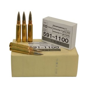 Swiss Surplus 7.5x55mm GP11 (10 Rounds)