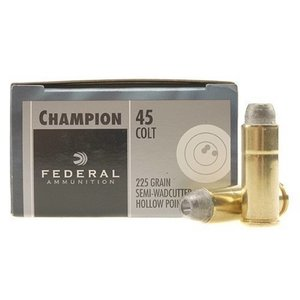 Federal Federal 45 Colt 225 Grain Semi-Wadcutter Hollow Point (20 rds)