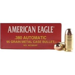 American Eagle American Eagle 380 ACP 95 Grain FMJ (50 rds)