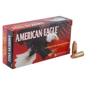 American Eagle American Eagle 9mm Luger 124 Grain FMJ (50 rds)