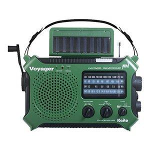 Kaito Kaito Voyager Solar & Crank Radio (Green)