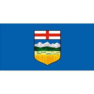 Flag Alberta Flag