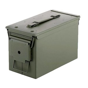 US Military Ammo Can .50 CAL (Fresh) OD (US Style)