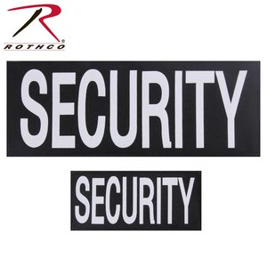 Rothco Security Patches Lot (Small & Large) Velcro