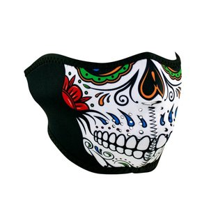 Zan Headgear Zan Neoprene Half Mask (Muerte Skull)