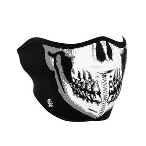 Zan Zan Neoprene Half Mask (Skull)