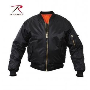 Rothco Rothco Black MA-1 Flight Jacket