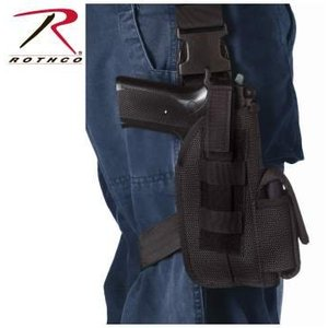 "Rothco Rothco 5"" Tactical Holster Black"