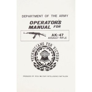 Fox Outdoor AK-47 Operator's Manual