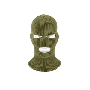 Misty Mountain Thinsulate Olive Drab 3-Hole Acrylic Balaclava