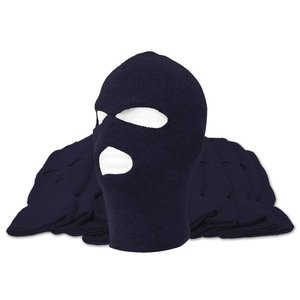 Misty Mountain Navy 3-Hole Acrylic Balaclava