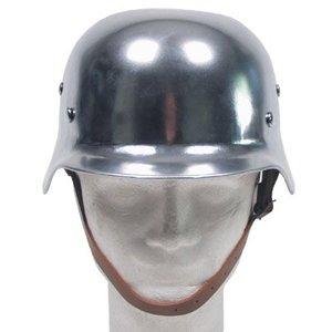 SGS WW2 German Replica Helmet Chromed
