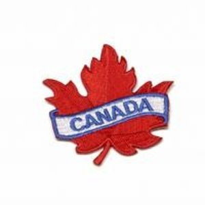 CPK Canada Maple Leaf Patch