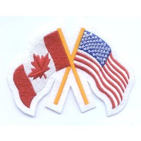 CPK Canada / USA Friendship Patch