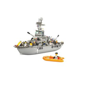 Sluban Sluban Navy Cruiser Set (M38-B0126)