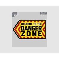 Milspec Monkey Danger Zone Decal