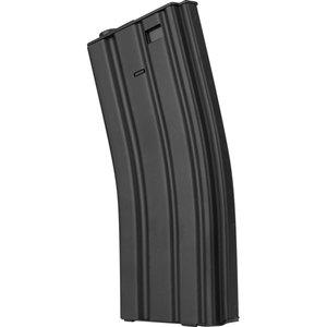 Valken Valken M4 Metal Hi Cap Airsoft Magazine (300rd) Black