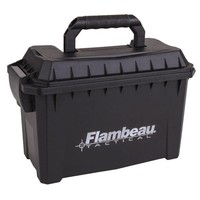 Flambeau Flambeau Small Ammo Can 30 cal (Black Plastic) #6415SB