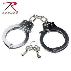 Rothco Rothco Silver Steel Handcuffs (#10083)