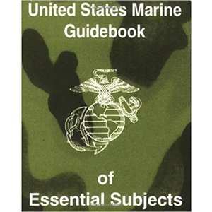 Repro Manuals United States Marine Guidebook of Essential Subjects