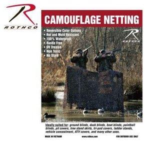 "Rothco Rotcho Military Type Camo Netting (9'10"" x 9'10"") - WM05 (#6504)"