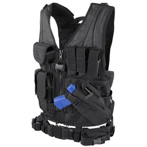 Condor Outdoor Condor Cross Draw Vest - X-Large (CV-XL)
