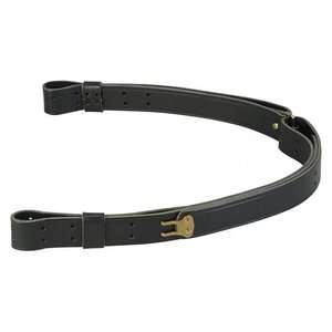 Levy's Leathers Levy's Military Leather Sling 1.25 - Black (T2-BLK)