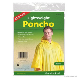 Coghlan's Coghlan's Lightweight Poncho Yellow (#9268)
