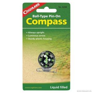 Coghlan's Coghlan's Ball-Type Pin-On Compass (#8268)