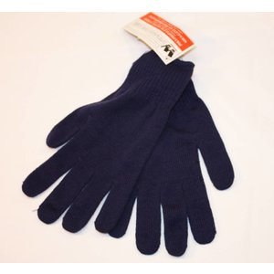 Wonka Polypropene Moisture Wicking Glove Liner Navy Blue
