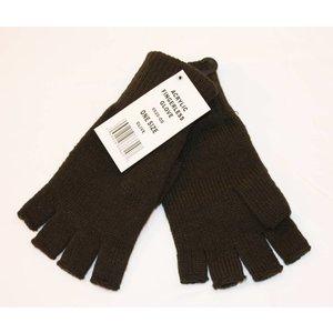 Mil-Spex Mil-Spex Olive Drab Acrylic Fingerless Gloves (#6620-OD)