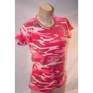 TMT *Clearance* Ladies Camo T-Shirt