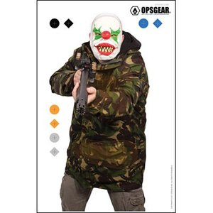 Law Enforcement Targets OpsGear Clown Target - Shotgun Clown (OP-SGUN CLOWN)