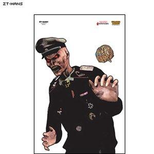 """Law Enforcement Targets Full Color """"Nazi Hans"""" Zombie Target (ZT-Hans)"""