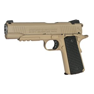 Swiss Arms SA 1911 Military Rail Pistol TAN (BB) #288507