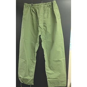 Canadian Military Surplus Canadian Olive Drab Rain Pants - Surplus