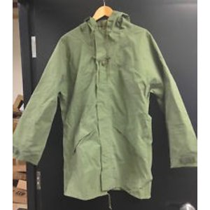 Canadian Military Surplus Canadian Olive Drab Rain Jacket - Surplus