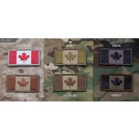 "Milspec Monkey Canadian Flag Patch (3"" x 1.6"") Woven"