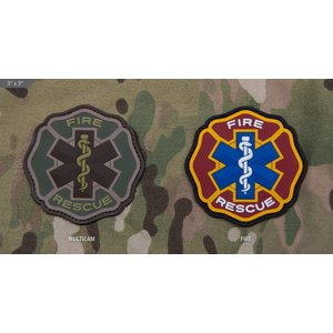 Milspec Monkey Fire Rescue PVC Patch