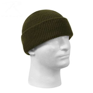 US Military Surplus Rothco Wool Watch Cap (Olive Drab Green) 5779