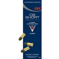 CCI/Speer CCI CB 22 Short 29 Grain Lead Round Nose (#26)