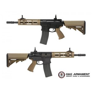 G&G Airsoft G&G CM16 Raider 2.0 (Tan w/ Black Body) Airsoft Rifle