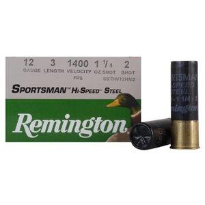 """Remington Remington Sportsman Hi-Speed Steel 12 Gauge 3"""" #2 Shot (20989)"""